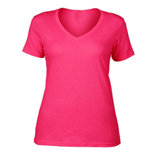 WOMENS V NECK T-SHIRT MANUFACTURER IN TIRUPUR, INDIA